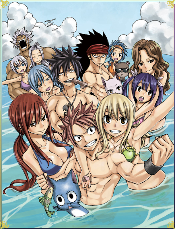 Oav fairy tail story site reference du manga fairy tail de hiro mashima en vf et vostfr - Fille fairy tail ...